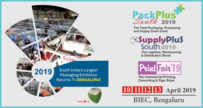 PackPlus South 2019, Packaging Exhibition for total